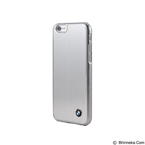 BMW Brushed Case for Apple iPhone 6 Plus - Silver (Merchant) - Casing Handphone / Case