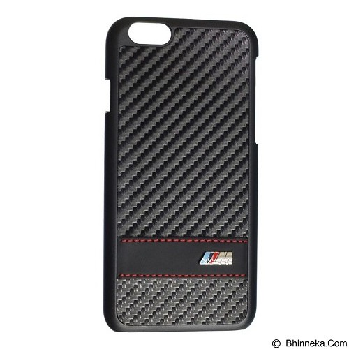 BMW Carbon Effect Case for Apple iPhone 6 - Black (Merchant) - Casing Handphone / Case
