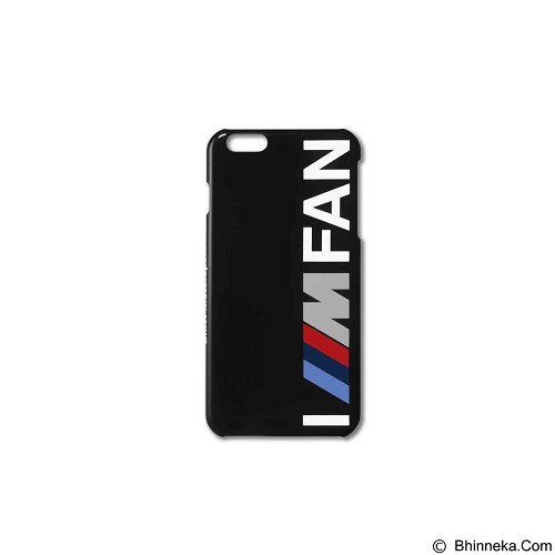 BMW Case I M Fan for Apple iPhone 6 Plus - Black (Merchant) - Casing Handphone / Case