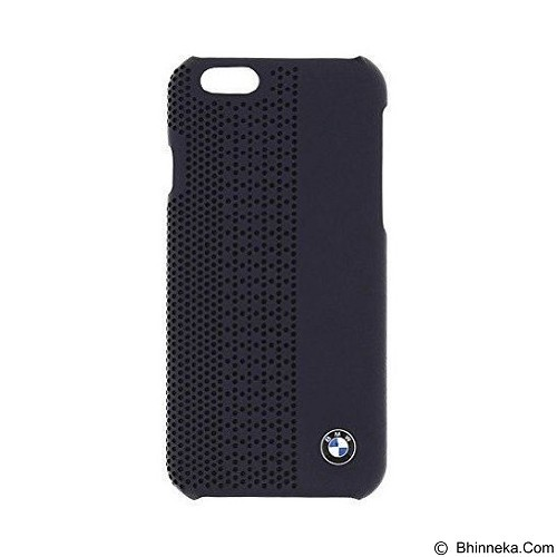 BMW Perforated Hard Case for Apple iPhone 6 - Blue (Merchant) - Casing Handphone / Case