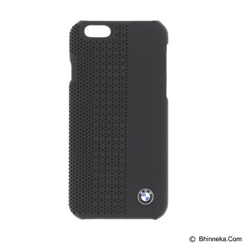 BMW Perforated Hard Case for Apple iPhone 6 Plus - Black (Merchant) - Casing Handphone / Case