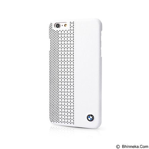 BMW Perforated Hard Case for Apple iPhone 6 Plus - White (Merchant) - Casing Handphone / Case