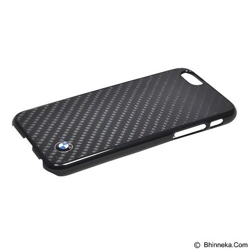 BMW Real Carbon Fiber Case for Apple iPhone 6 Plus - Black (Merchant) - Casing Handphone / Case