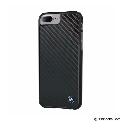 BMW Real Carbon Fiber Case for Apple iPhone 7 Plus - Black (Merchant) - Casing Handphone / Case
