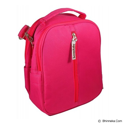 BOOGY BABY Half Day Boogy Cooler Bag [ITM-00084] - Pink - Diapers Bag / Tas Popok