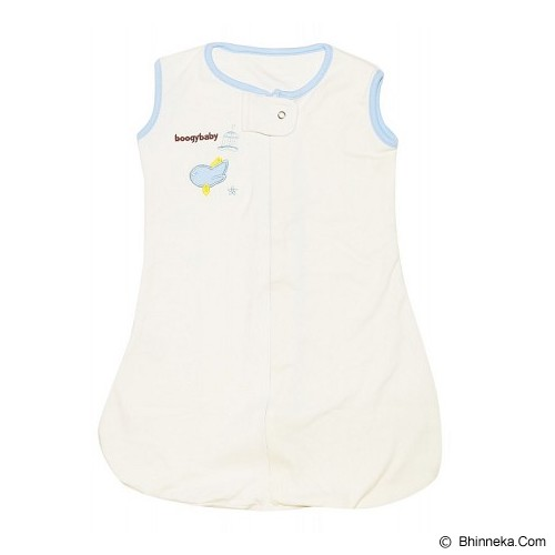BOOGY BABY Zipp Up Sack Boy [151] - White - Jumper Bepergian/Pesta Bayi dan Anak
