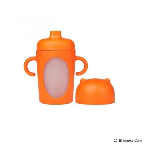 BOON Modster Sippy Cup 10oz [MSC10] - Orange - Perlengkapan Makan dan Minum Bayi