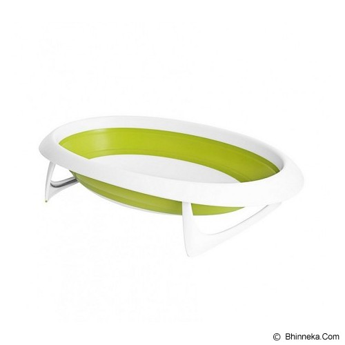 BOON Naked Collapsible Bathtub [NCBG612] - Green - Baby Bath Tub and Accesories