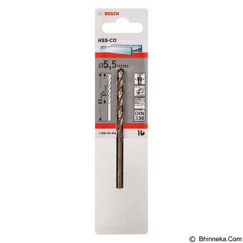 BOSCH HSS-Co Metal Drill Bits [2 608 585 854] - Mata Bor