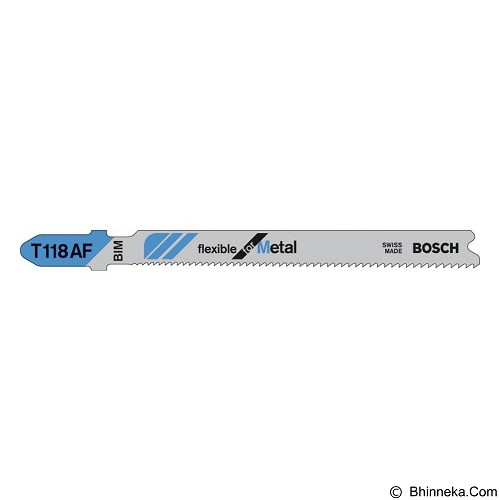 BOSCH Jigsaw Blades [2 608 634 505] - Gergaji Listrik