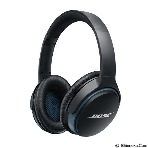 BOSE Headphone Soundlink Around Ear [HDPRA0127] - Black - Headset Bluetooth