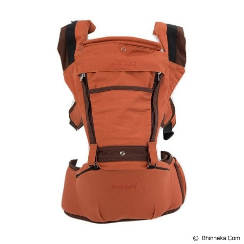 BOTH BABY Hipseat Carrier [BB2] - Cozy Orange - Carrier And Sling