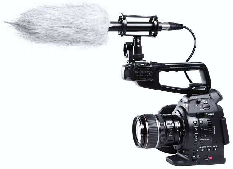BOYA Professional Shotgun Microphone [BY-PVM1000] - Camera and Video Microphone