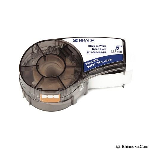 BRADY Label Cartridge Black on White [M21-500-499] - Pita & Label Printer Lainnya