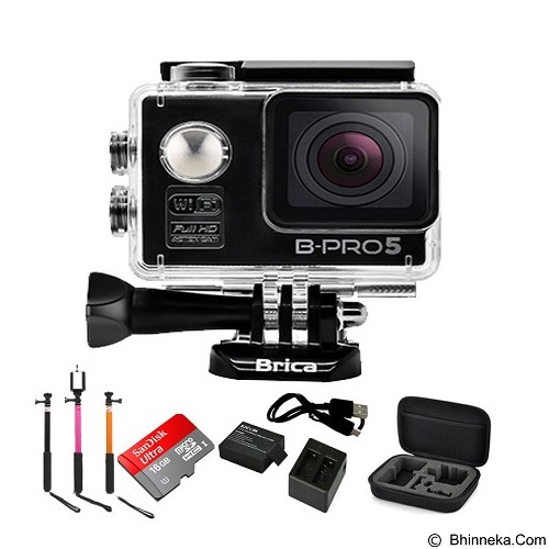 BRICA B-PRO5 Alpha Edition Paket A - Black - Camcorder / Handycam Flash Memory