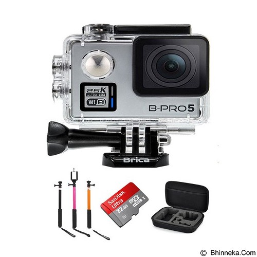 BRICA B-PRO5 Alpha Plus Edition Paket B - Silver - Camcorder / Handycam Flash Memory