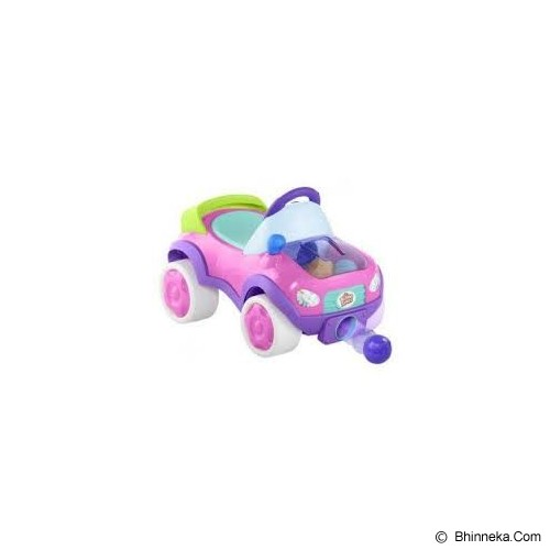 BRIGHT STARS Having a Ball Pop & Roll Roadster [9326-pink] - Pink - Ride On and Tricycles
