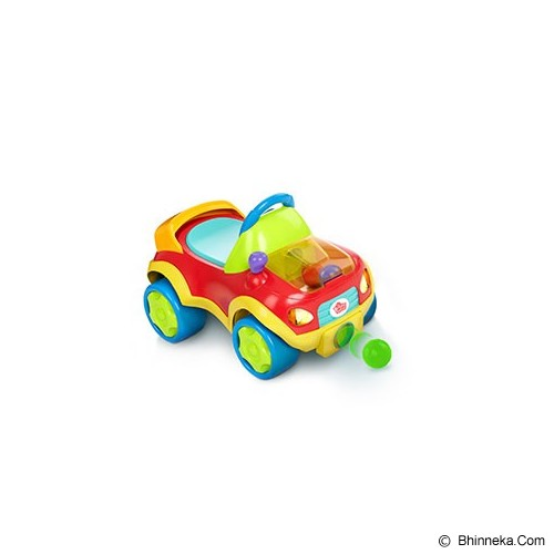 BRIGHT STARS Having a Ball Pop & Roll Roadster [9326-red] - Red - Ride On and Tricycles
