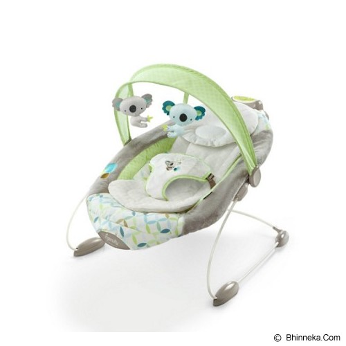 BRIGHT STARS Ingenuity SmartBounce Automatic Bouncer Brighton [60398] - Baby Highchair and Booster Seat