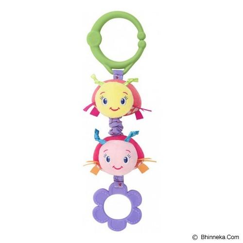 BRIGHT STARS Shimmy Shakers [52073-p] - Pink - Mainan Gantung / Stroller Toy