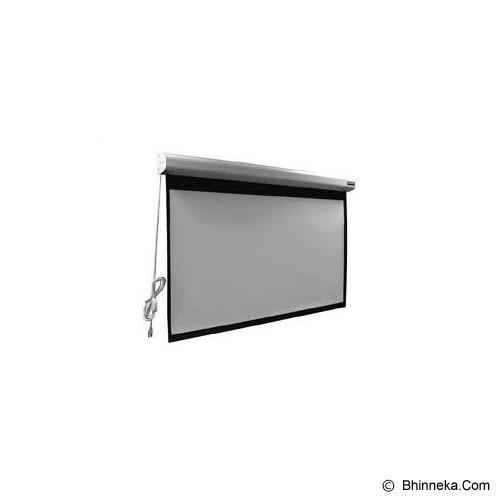 BRITE Motorized 84 inch [MR-2121] (Merchant) - Proyektor Screen Motorize