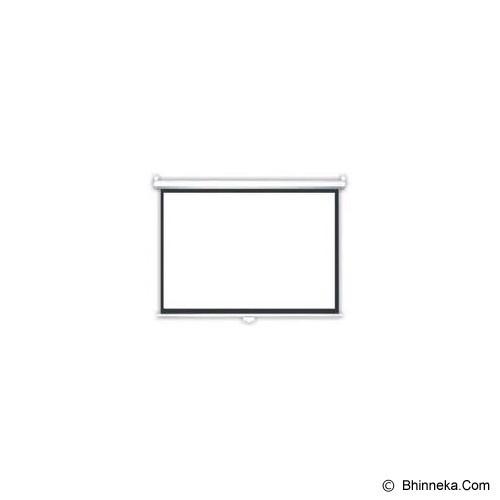 BRITE Manual Pull Down 96 inch [MAS-2424] - Proyektor Screen Manual Pull Down