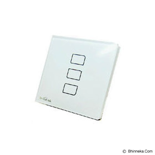 BROADLINK Saklar Elektronik 3 Switch [6924826700163] - Saklar in Bow