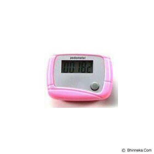 BRONSIS STORE Alat Pengukur Langkah Kaki - Pink - Alat Pencatat Langkah / Pedometer