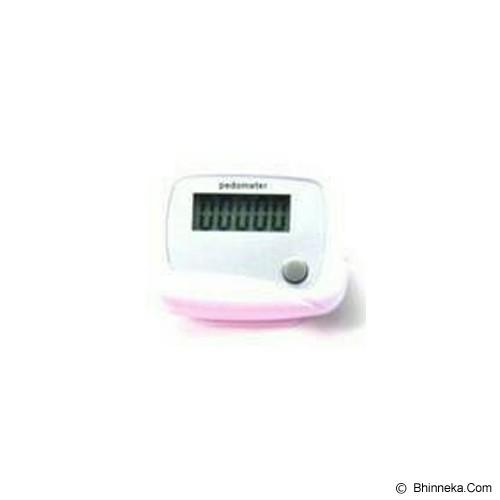 BRONSIS STORE Alat Pengukur Langkah Kaki - White - Alat Pencatat Langkah / Pedometer