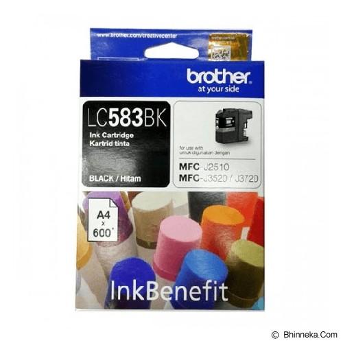 BROTHER Black Ink Cartridge LC-583BK