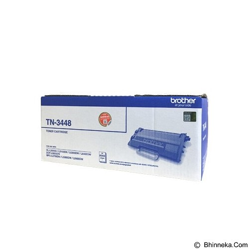 BROTHER Black Toner Cartridge [TN-3448] - Toner Printer Brother