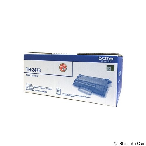 BROTHER Black Toner Cartridge [TN-3478] - Toner Printer Brother