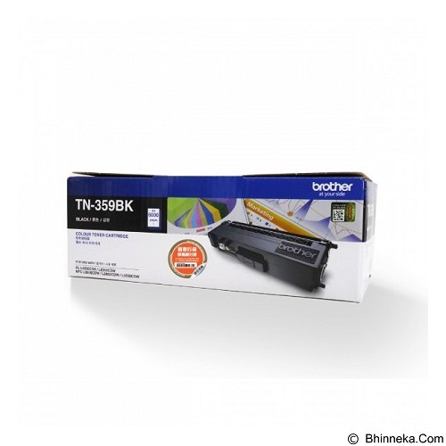 BROTHER Black Toner Cartridge [TN-359BK] - Toner Printer Brother