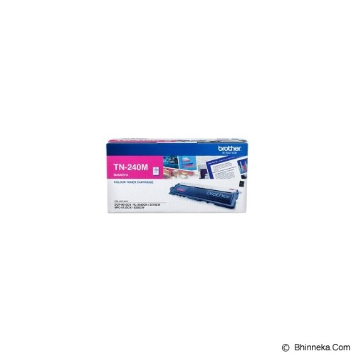 BROTHER Magenta Toner [TN-240M] - Toner Printer Brother