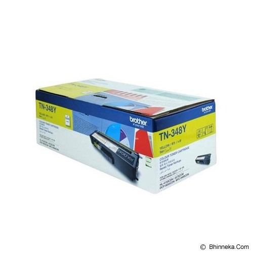 BROTHER Yellow Toner [TN-348 Y] - Toner Printer Brother