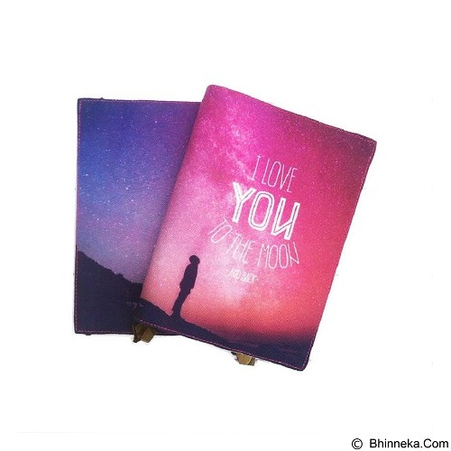 BUKU UNIK I Love You To The Moon And Back [FB-W-12] - Scrapbook And PatchWork