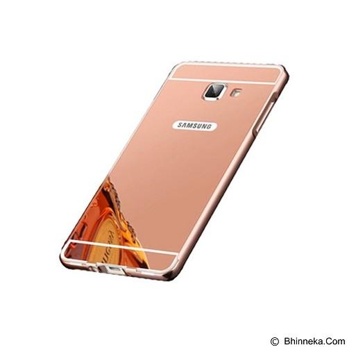 BUMPER CASE Mirror Sliding Case Samsung Galaxy J510 (J5 2016) - Rose Gold (Merchant) - Casing Handphone / Case