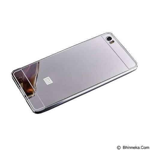 BUMPER CASE Mirror Sliding Case Xiaomi Mi5 - Silver (Merchant) - Casing Handphone / Case