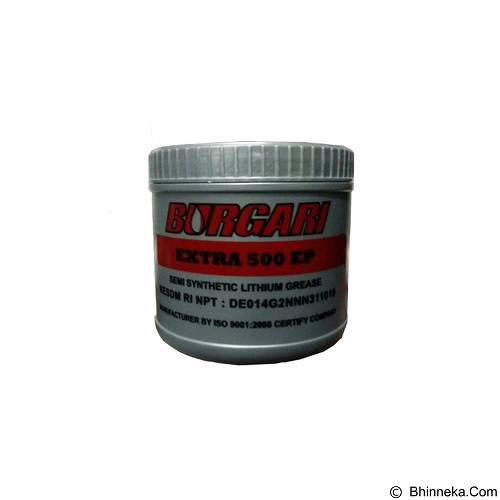 BURGARI Semi Synthetic Lithium Grease Extra 500 EP 455 gram - Cairan Pelumas Serbaguna