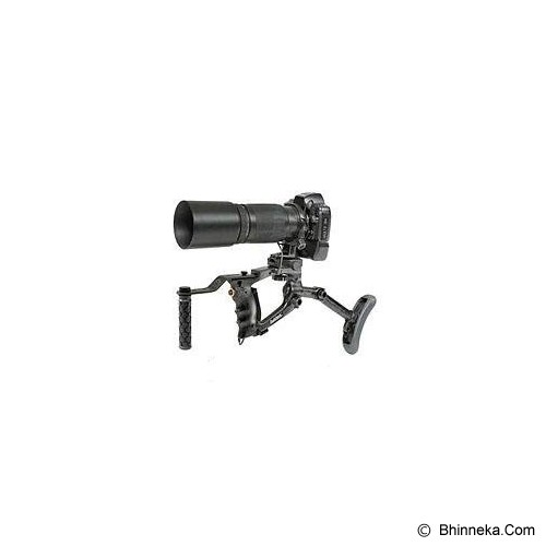 BUSH HAWK 320D Pro Kit Nikon (Beige) - Tripod Arm, Rail and Macro Bracket