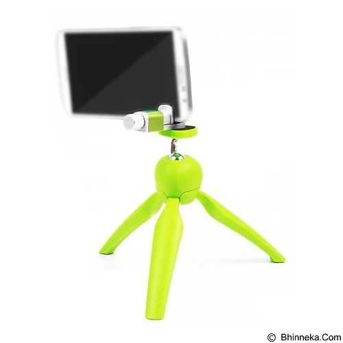 CALLIASTORE Mini Tripod With Phone Holder Clip Desktop [Lr-268] - Green (Merchant) - Tripod Mini and Tabletop