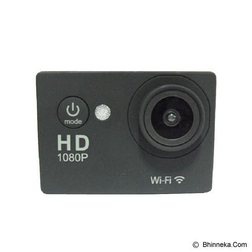 CALLIASTORE Sport Cam SJ4000 Wi-Fi OEM - Black - Camcorder / Handycam Flash Memory