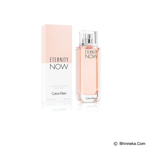 CALVIN KLEIN Eternity Now For Women EDP 100 ml [Cal047] (Merchant) - Eau De Parfum untuk Wanita