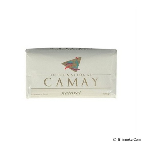 CAMAY Sabun Mandi - New Natural White - Sabun Mandi