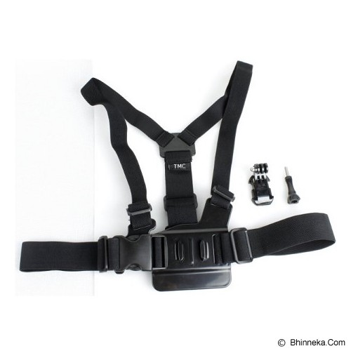 CAMEACS Chest Harness Belt Strap With J-Hook Mount Set - Camcorder Mounting