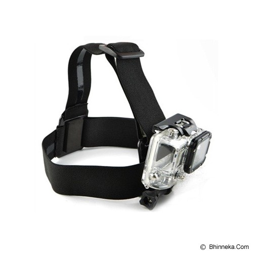CAMEACS Elastic Adjustable Head Strap With Anti-Slide Glue - Camcorder Mounting