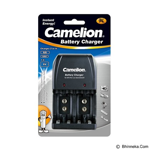 CAMELION Universal Battery Charger [BC-0904S] - Black (Merchant) - Camera Power Adapter and Charger