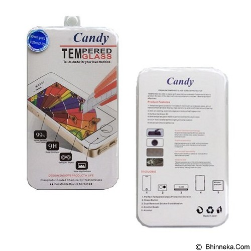 CANDY Tempered Glass iPhone 6 Plus/6s Plus (Merchant) - Screen Protector Handphone