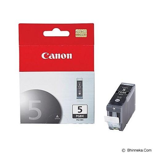 CANON Black Ink Cartridge [PGI-5] - Tinta Printer Canon