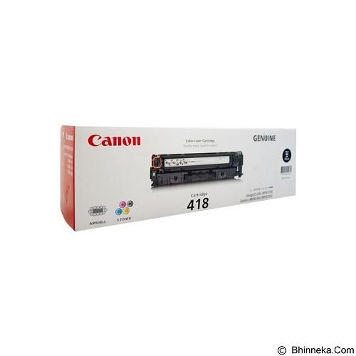 CANON Black Toner [418] - Toner Printer Canon